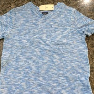 Baby gap boys blue v neck shirt NWT new 3t